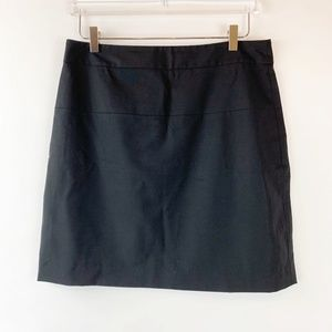 Theory Classic Mini Tailored Skirt in Black 12